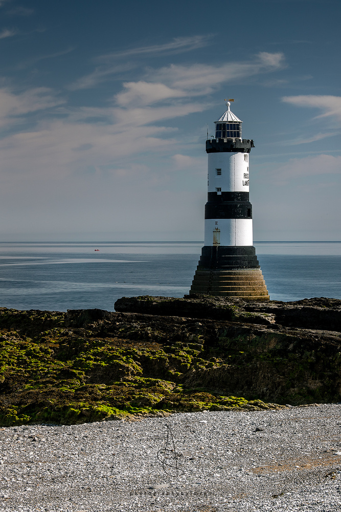 Penmon Lighthouse, Wales by Imran Mirza