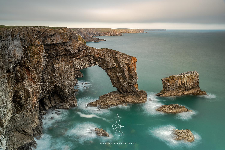 The Green Bridge of Wales by Imran Mirza