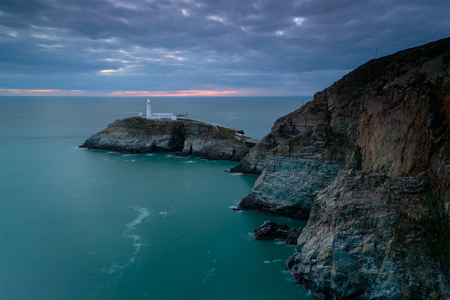 South Stack Lighthouse, Wales by Imran Mirza