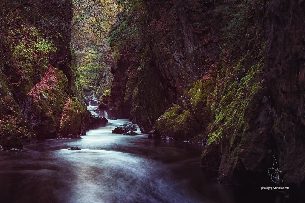 Fairy Glen, Wales by Imran Mirza