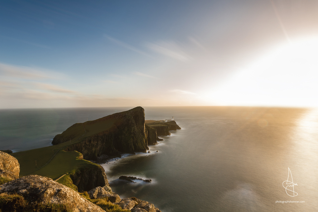 Neist Point Lighthouse by Imran Mirza