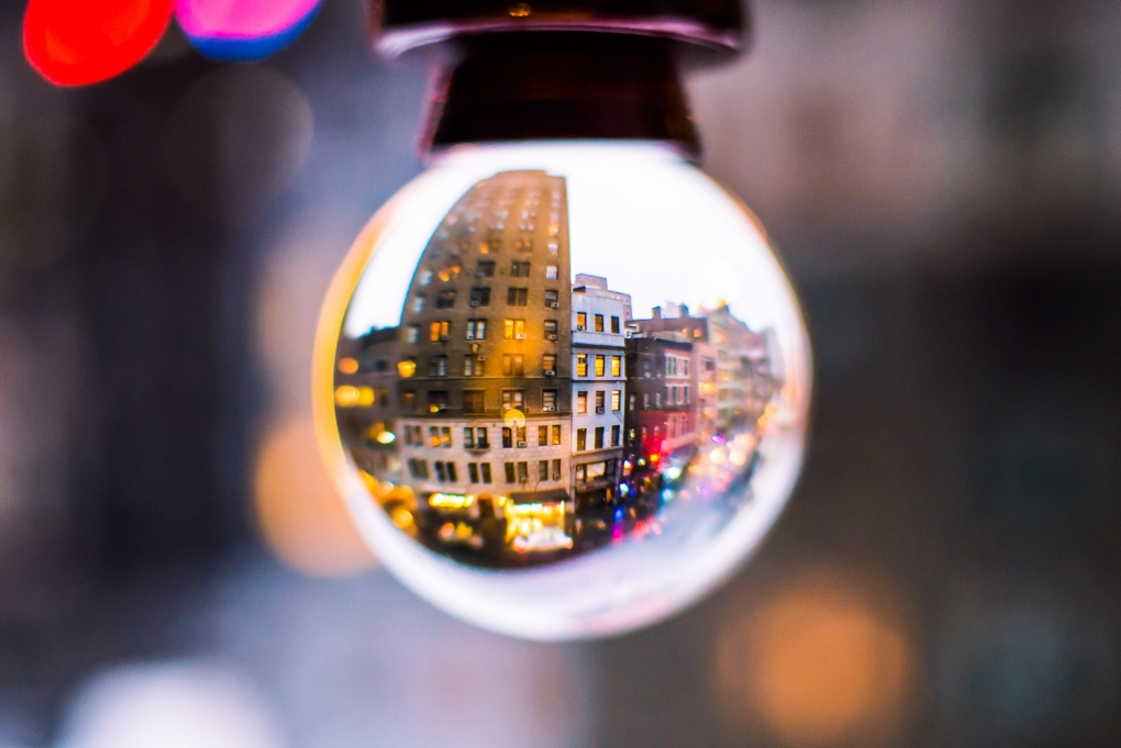 NYC Crystal Ball by Tam Nguyen