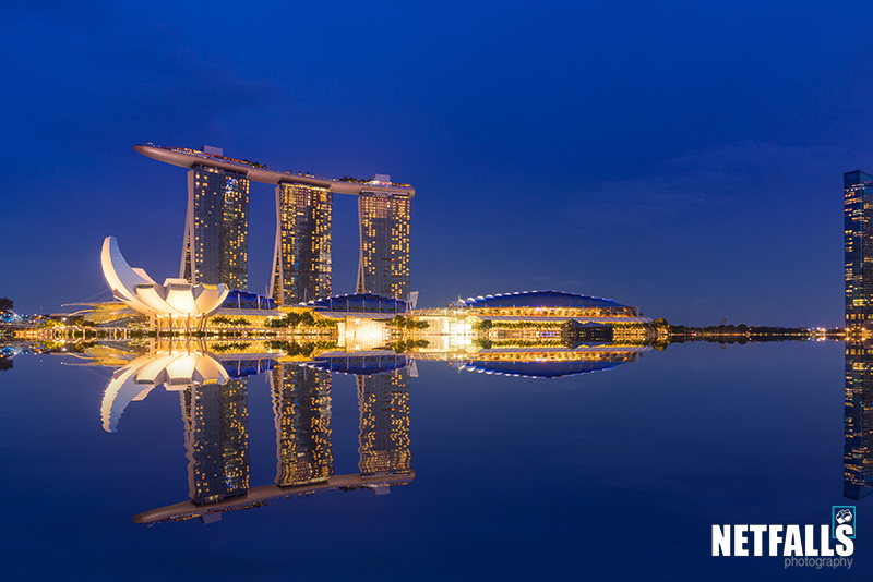 Marina bay sands Singapore by Remy Musser