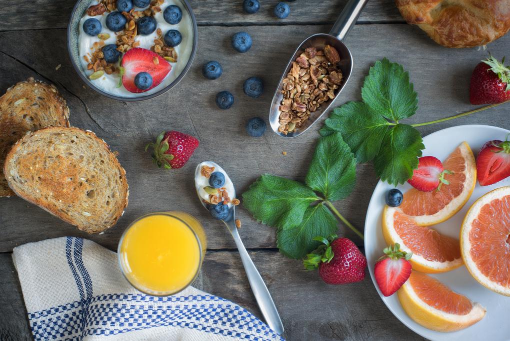Summer Breakfast by Rodney Bedsole