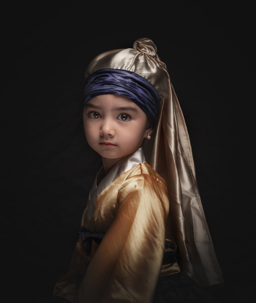 Child with a Pearl Earring pt.2 by Richard Gatmaitan