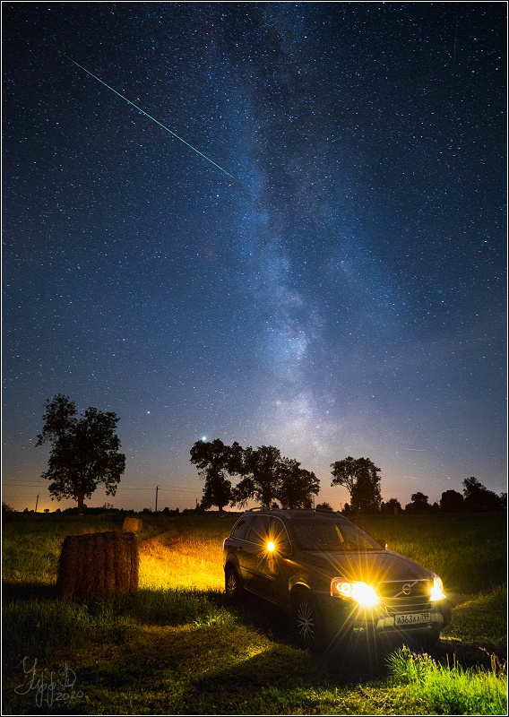 The hunt for Perseids by Roman Radkevich