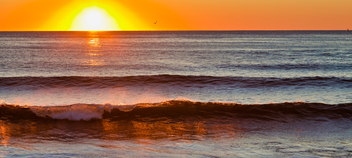 Ogunquit sunrise by Attila Michael Zsaki