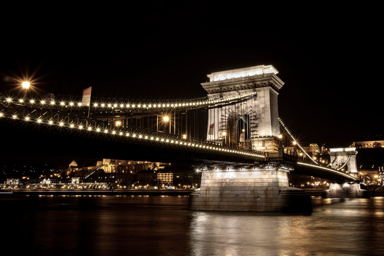 Budapest Bridge by Alexander H