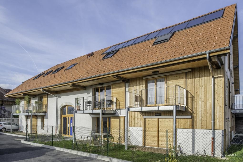 Architect design for social housings  by Thomas Bekker