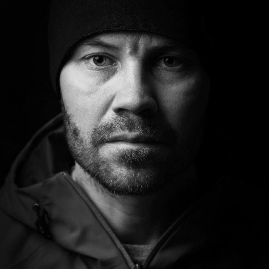 Self portrait by Jonas Gunnarsson