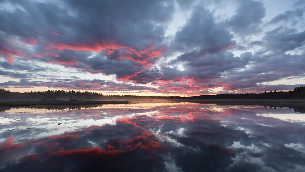 Sunset by Jonas Gunnarsson