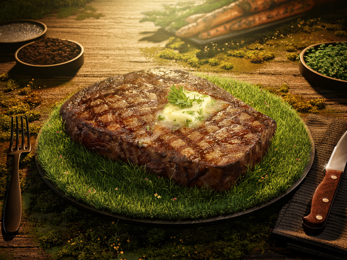 GRASS FED BEEF by Ryan Hill