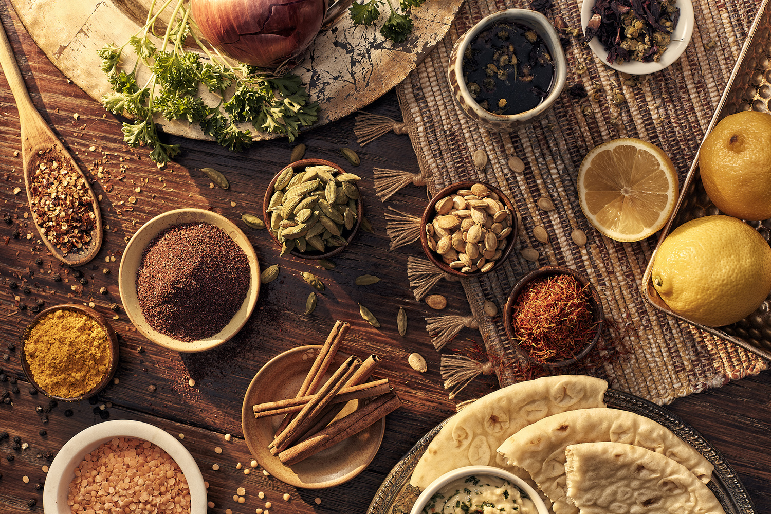 World Spices by Ryan Hill