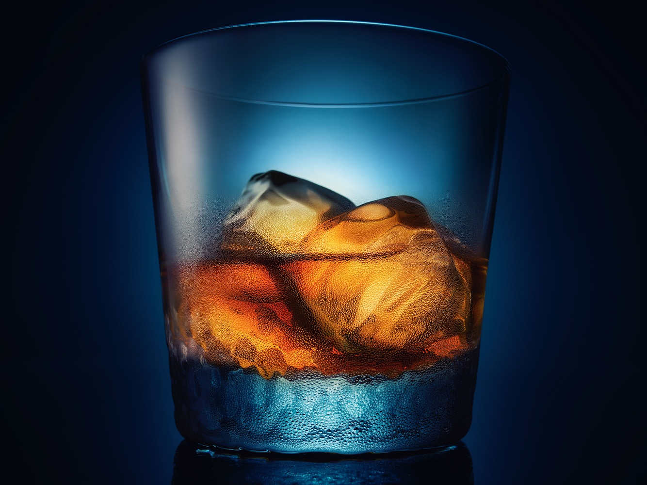 Bourbon on Ice by Ryan Hill