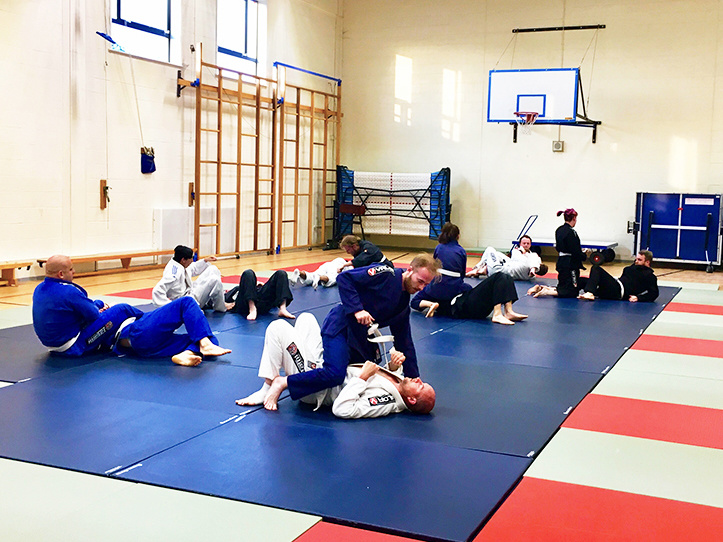 Portsmouth BJJ Training Session by Adam Sparrow