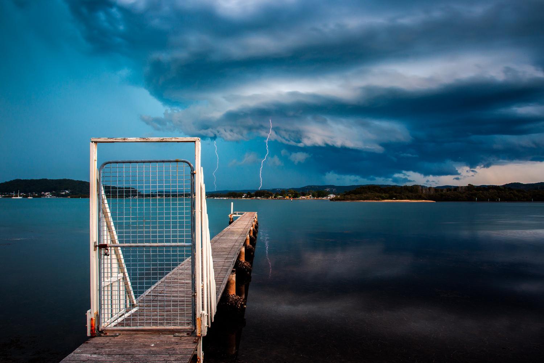 Storm Reflections by Stuart McAndrew