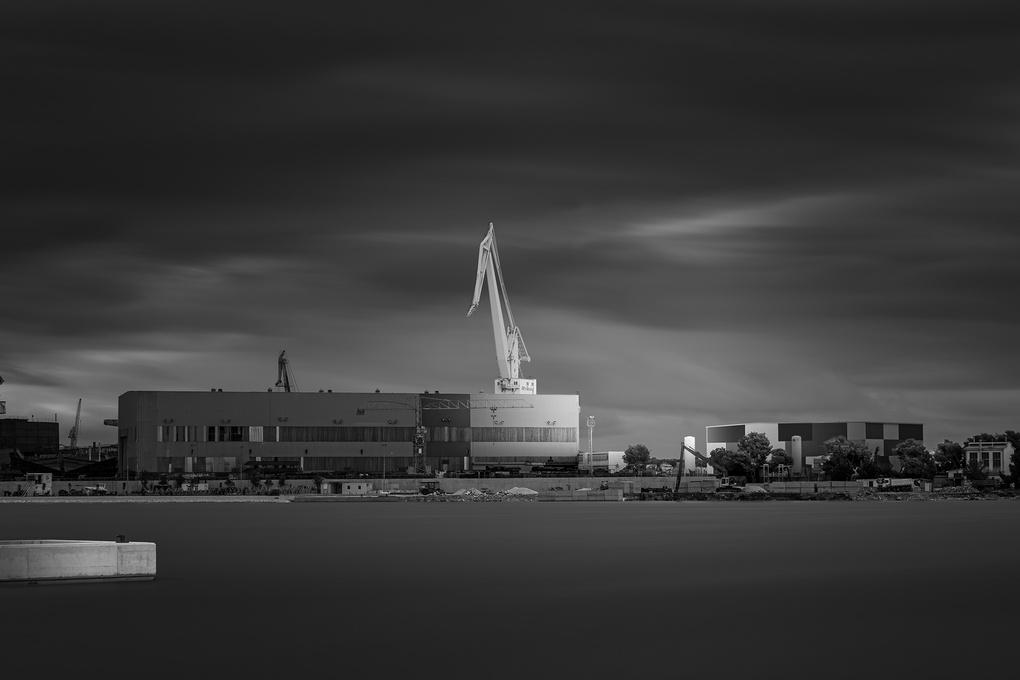 Shipyard by Bruno Kolovrat