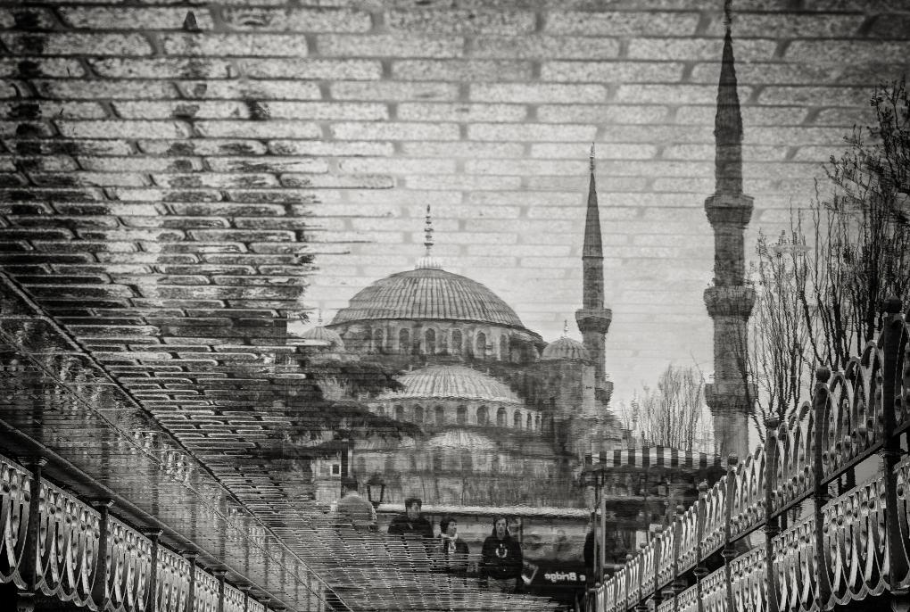 The Blue Mosque II by Bruno Kolovrat