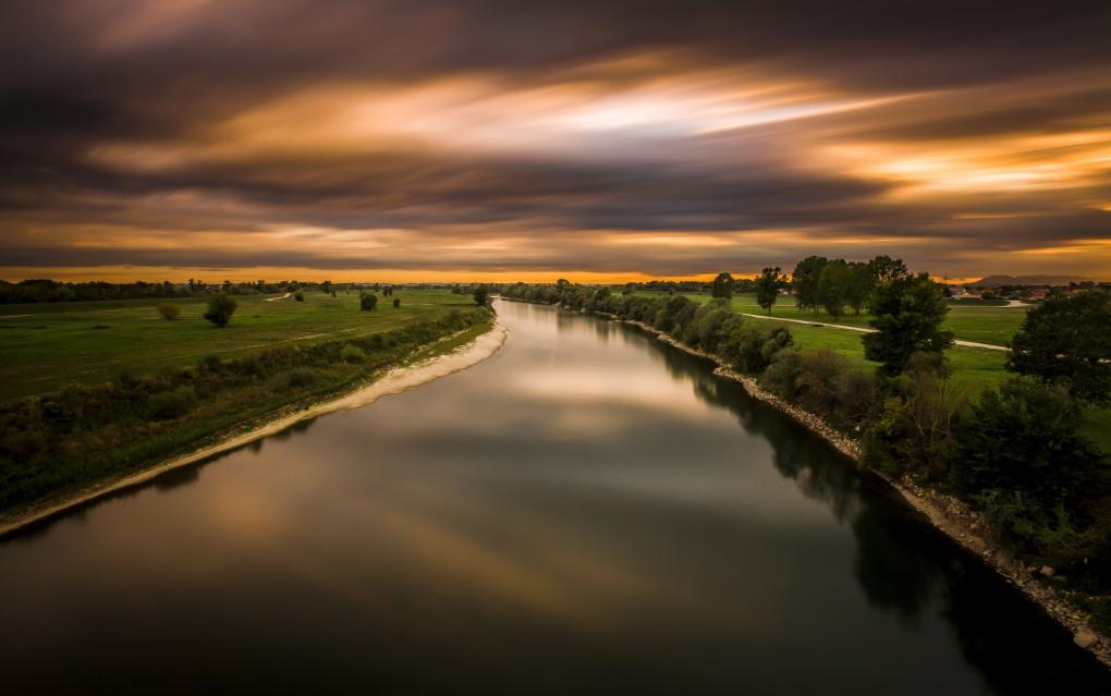 River Sava by Bruno Kolovrat