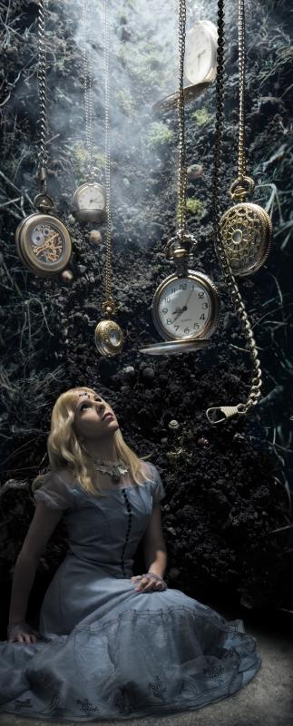 Alice - Down the Rabbit Hole by John Flury
