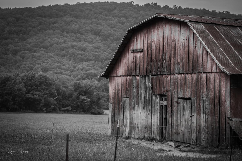 Rustic Barn by Robert Hopp