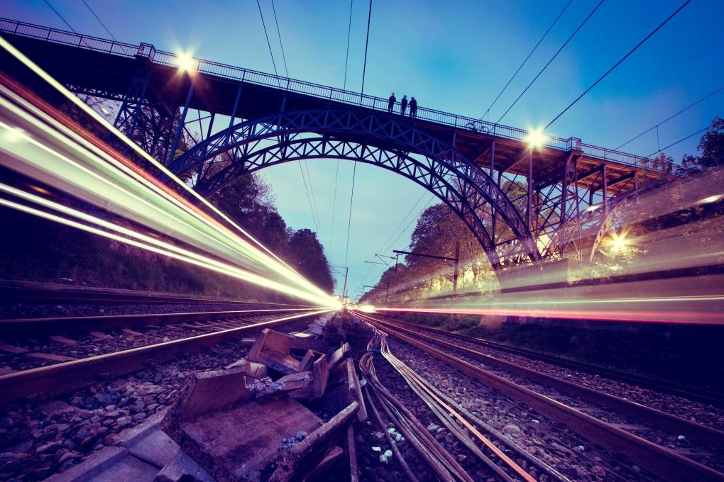 Train by Jan Emil Christiansen
