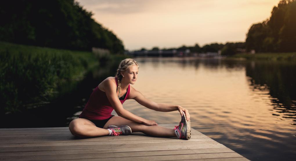 Training at sunset by Jan Pelikán