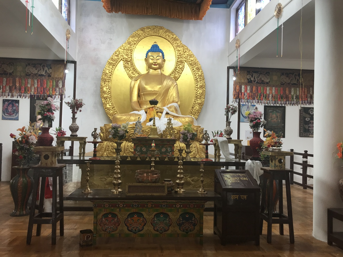 Lord Buddha Temple by Nancy Perez