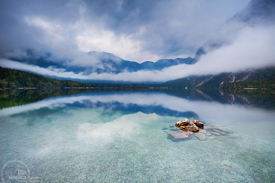Bohinj Lake by Ilija Veselica