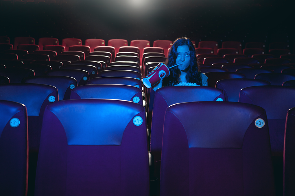 Alone at the movies by Adam Sund