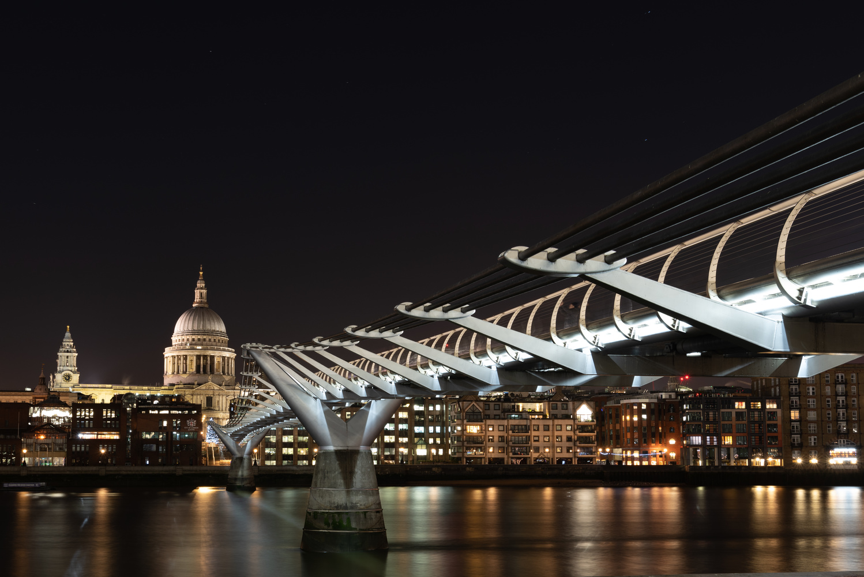 Millennium Bridge, London by Gerald Murphy