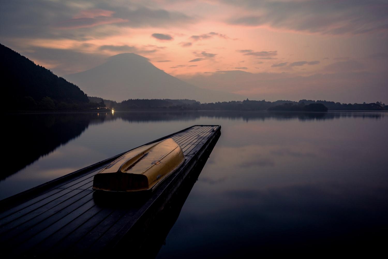 Blue Hour in Mt. Fuji by Herbert Ferreira