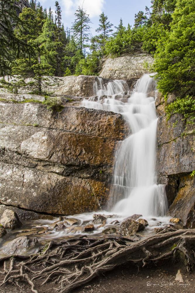 Lake Agnes Falls by Bryan Carter