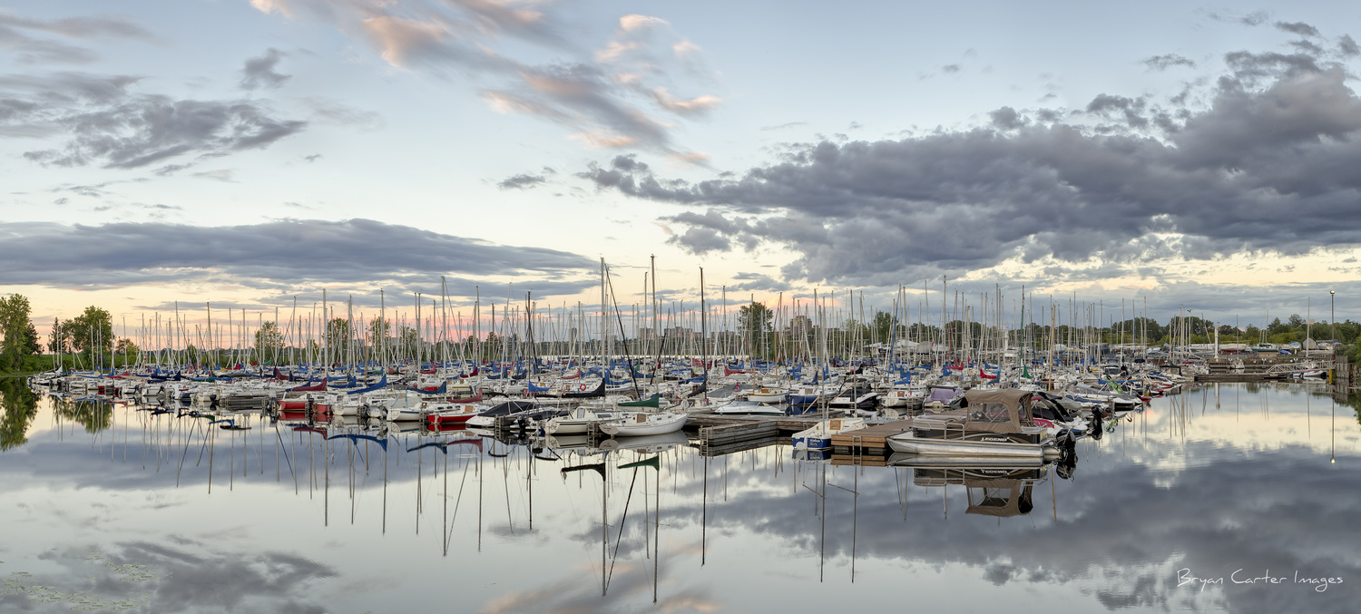 The Boats Of The Nepean Sailing Club by Bryan Carter