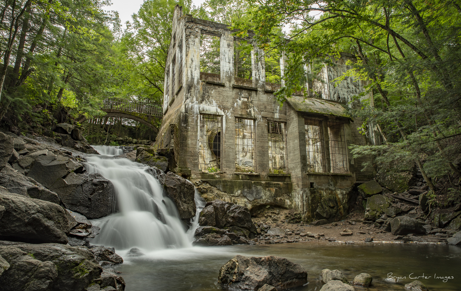 The Carbide Willson Ruins by Bryan Carter