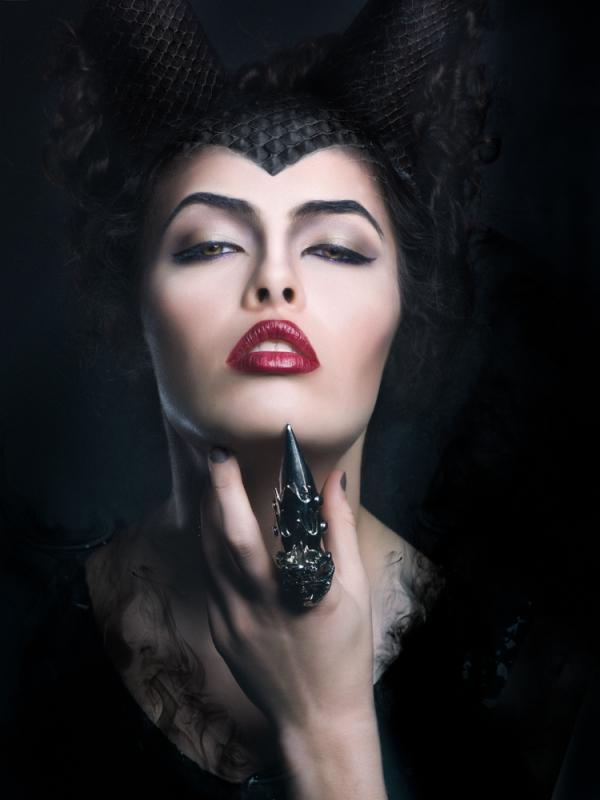Maleficent by David Bickley