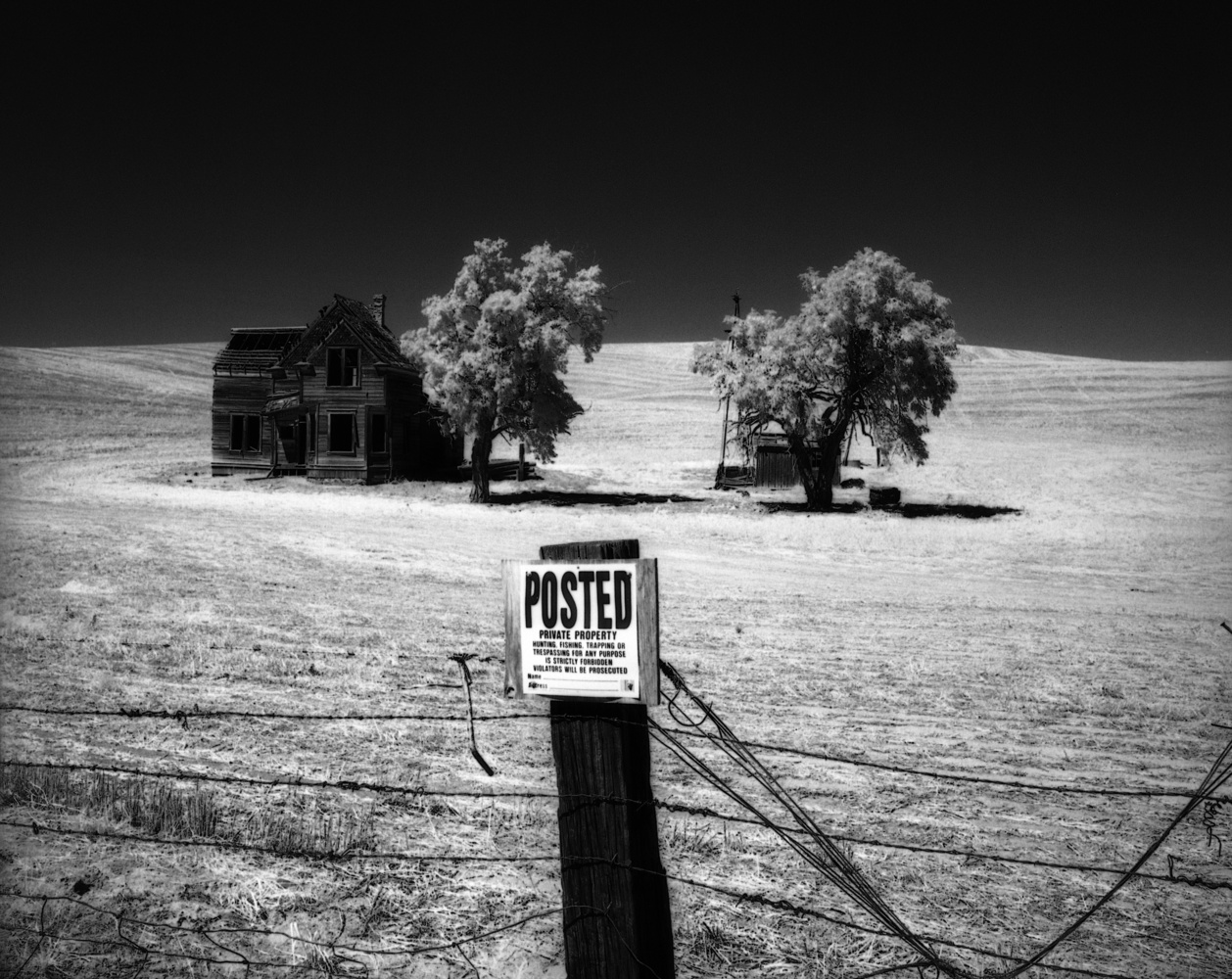 Charles Nelson House, Wasco County, Oregon by Gary Quay