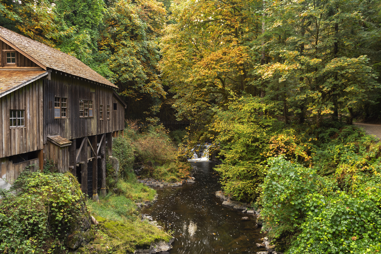 Cedar Creek Grist Mill, October 2020 by Gary Quay