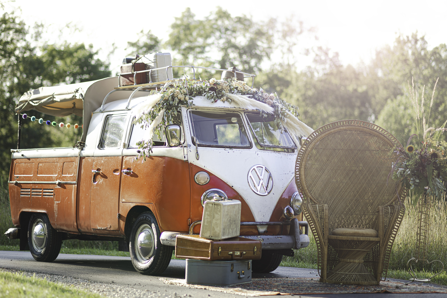 The Perfect BOHO Wedding Ride by Megan Day