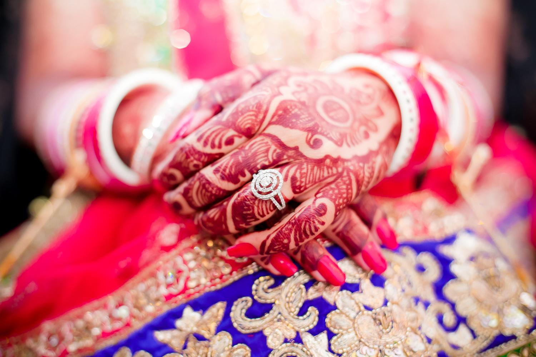 Ring Ceremony Delhi Wedding by sandeep kashyap
