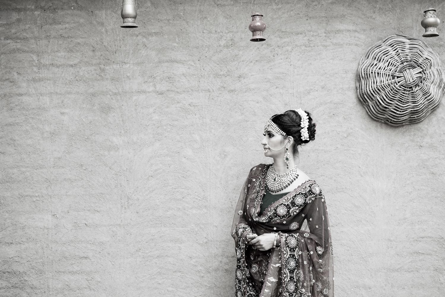 Bridal Portrait Delhi Wedding Photography by sandeep kashyap