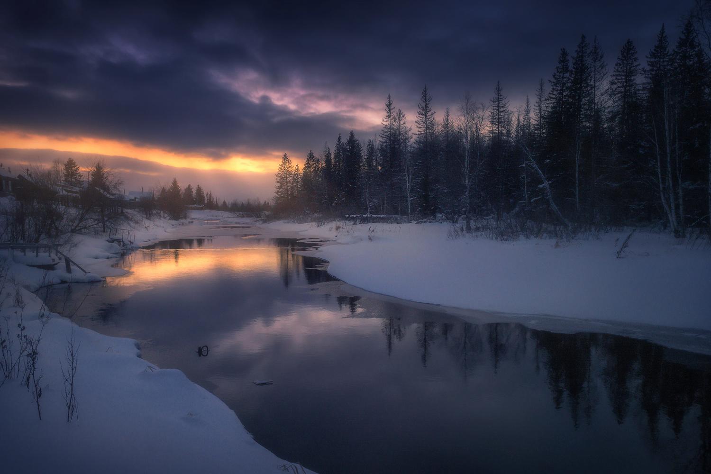 Towards the light by Vladimir Lyapin