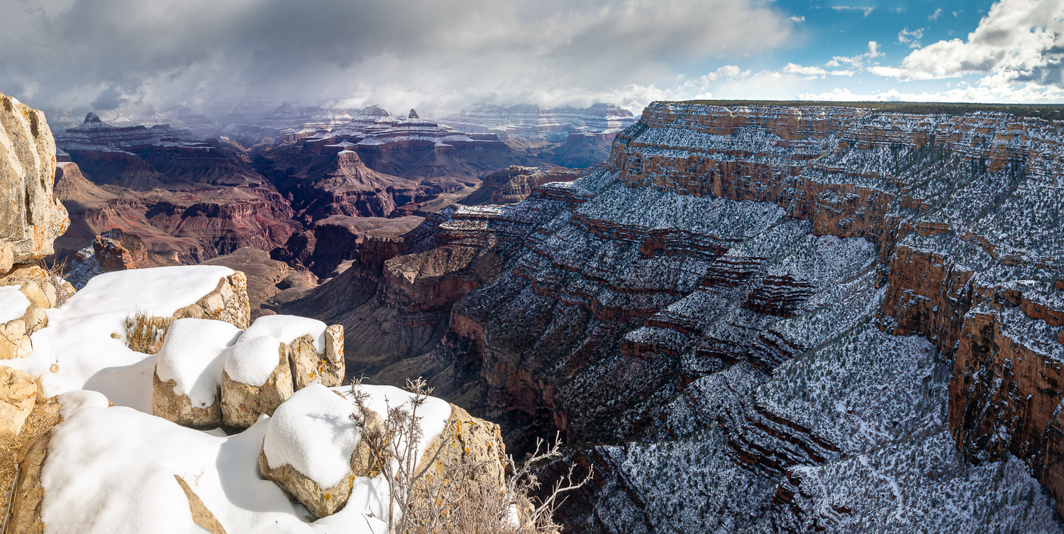 Southern Rim After Snow by Mariano de Miguel