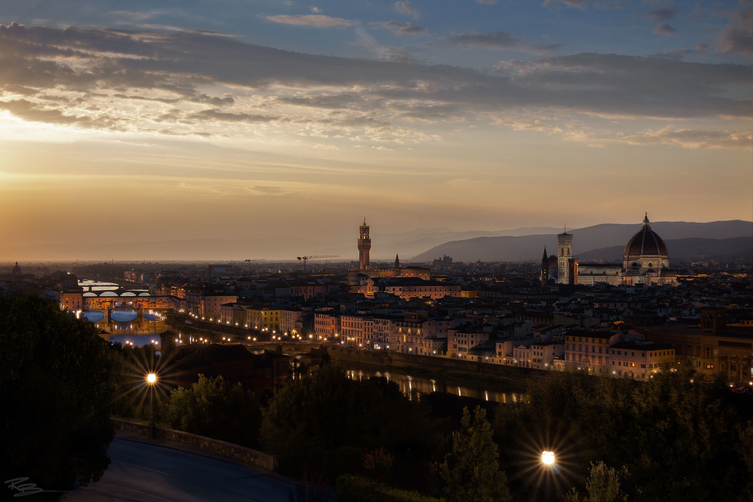 Twilight in Firenze by Roberto Benis