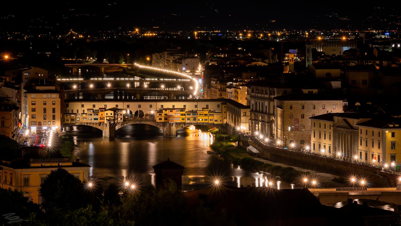 Ponte Vecchio by Roberto Benis