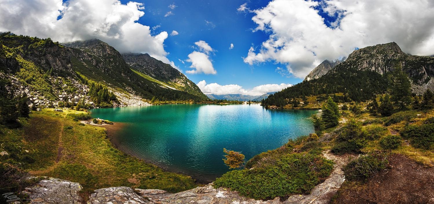 Lago d'Aviolo by Roberto Benis