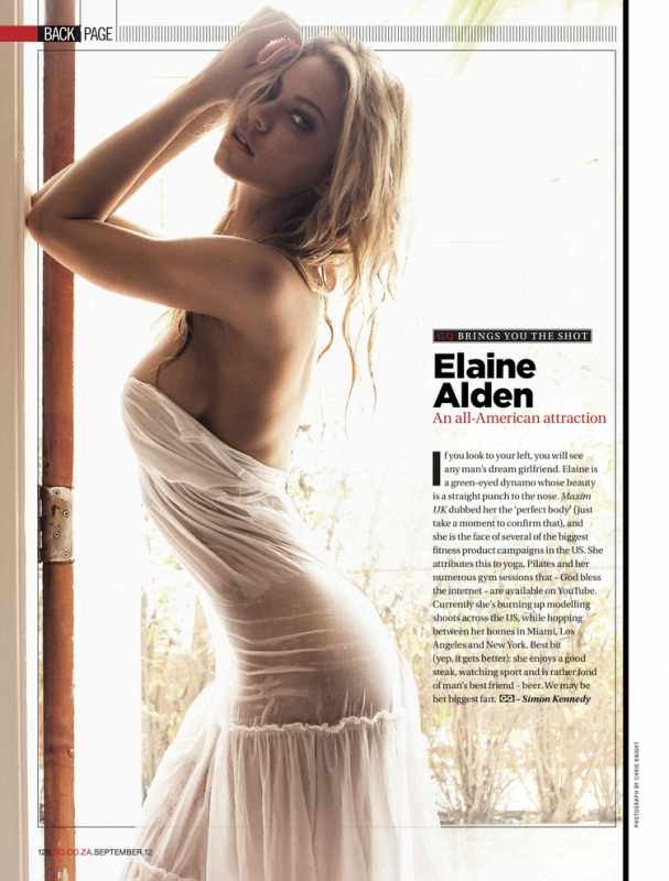 Elaine for GQ by Chris Knight
