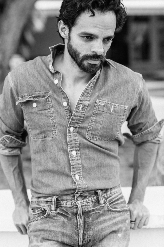 Beard and Denim by Chris Knight