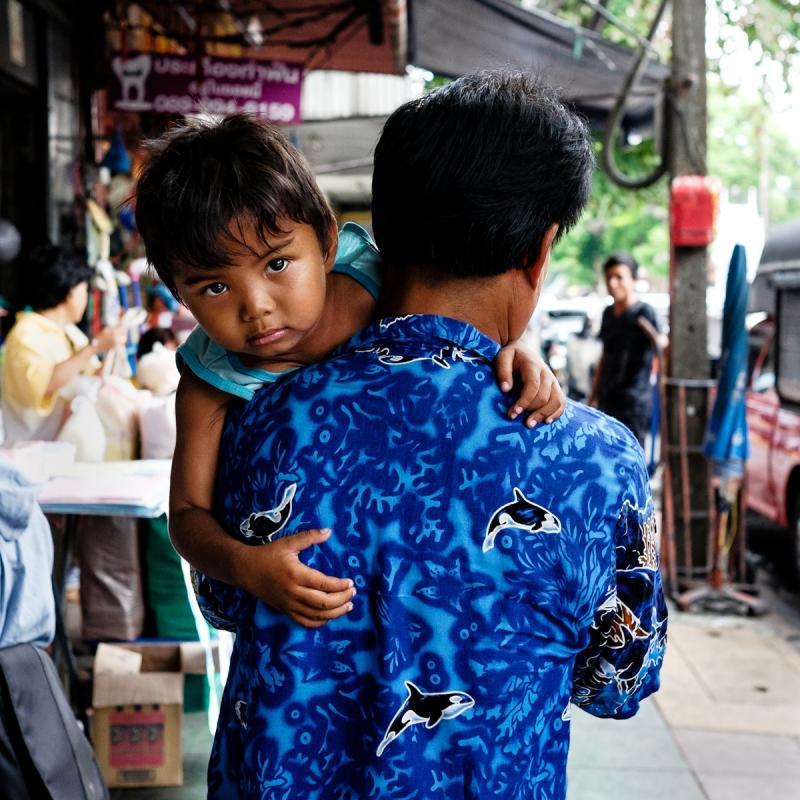 Boy in Thailand by Chris Knight