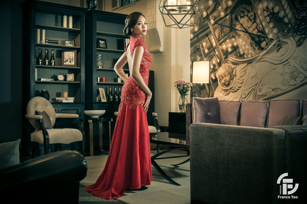 Lady In Red by Franco Yao